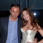 Marco Bacini con Manuela Ferrera, foto stampa