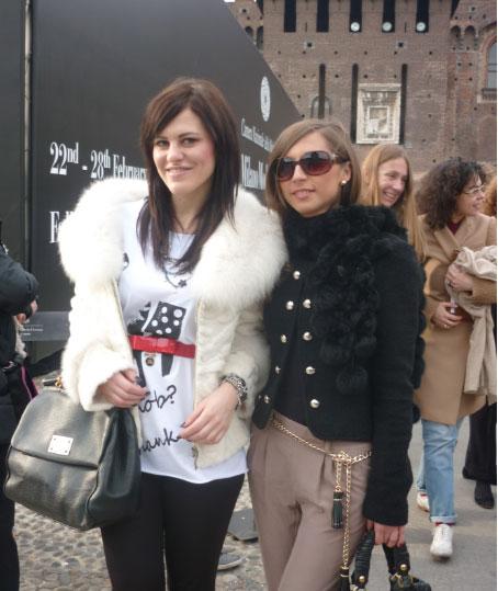 Melania Dalla Costa e Monica Sirani da RoccoBarocco