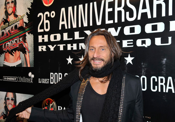 Bob Sinclair al 26° compleanno dell'Hollywood Rythmoteque