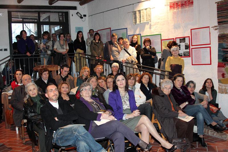 Il pubblico numeroso accorso all'inaugurazione, foto Rodolfo Mazzoni