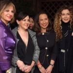 Da sx: Elena Bonelli, Patrizia Mirigliani, Cesara Buonamici ed Eleonora Brigliadori, foto stampa
