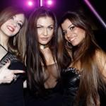 Luna Zubkova con le sue amiche, foto stampa