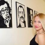L'artista Daisy Lo, foto stampa