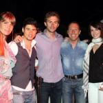 Debora con Daniele Colli, Paolo Corazzon e Stefania Andriola, foto stampa