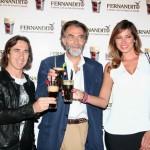 Il Conte Branca con Mario Fargetta e Aida, foto stampa