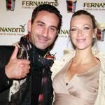 Matteo Viviani con Ludmilla Radchenko, foto stampa
