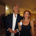 Giovanni Malagò con Lucrezia Lante della Rovere, foto stampa