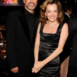 George Michael con Caroline Scheufele, foto stampa