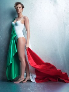 Federica Pellegrini, foto stampa