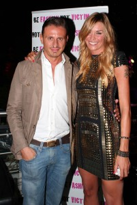 Marco Bacini e Elenoire Casalegno, foto stampa