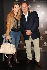 Ambra Orfei e Gerry Scotti, foto stampa
