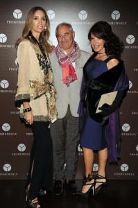 Laura Morino Teso, Romeo Sozzi, Gabriella Dompé, foto stampa