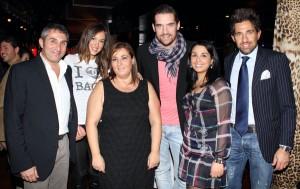 Stefy Cattaneo, Leonardo Tumiotto e il gruppo Mr Holiday, foto stampa