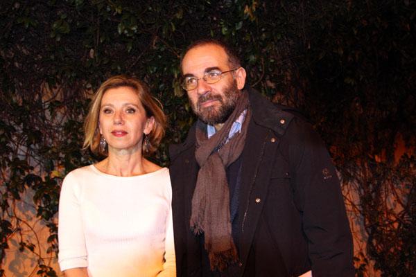 Giuseppe Tornatore con Concita De Gregorio, foto di Rodolfo Mazzoni
