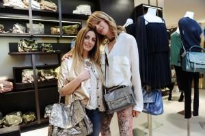 Alessia Marcuzzi con Laura Angelilli, foto stampa