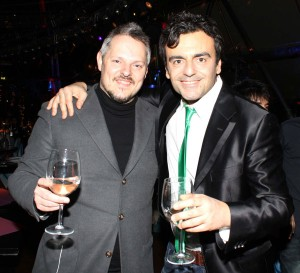Davide De Marinis con il regista Bastianello, foto stampa