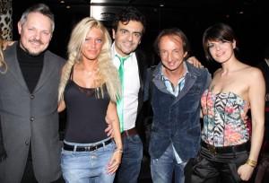 Davide con Roberto Ferrari, foto stampa