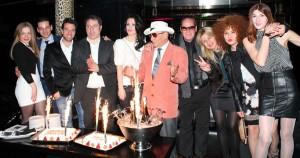 La torta di festeggiamento, foto stampa