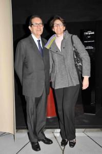 Salvatore e Luisa Carrubba, foto stampa