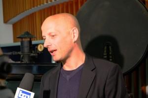 Il regista Stefano Sardo, foto di Rodolfo Mazzoni