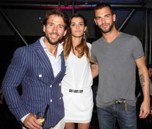Vanessa Contini, Gianluca Zito e Martin Evans, foto stampa