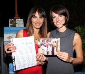Stefania Andriola con Liliana Patti, foto stampa