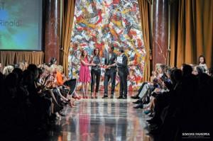 Il momento della premiazione, foto di Simone Panetta