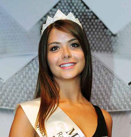 Ylenia Fresilli è Miss Ragazza Ingambissima Lazio 2013