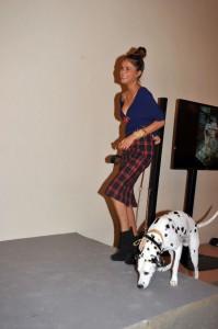 Momenti della sfilata: Angelica e Oscar, foto stampa
