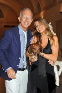 Guido Bagatta con Francesca e Ugo, foto stampa
