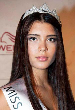 Costanza Nisi, Miss Roma 2013, foto stampa