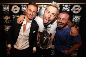 Marco Bacini con Ringo e Gianluca Gigli, foto stampa