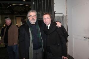 Roberto Bosco con Emilio Sturla-Furnò, foto Rosatelli/De Nicola