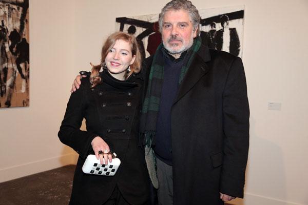 Roberto Bosco con Ludo, foto Rosatelli/De Nicola