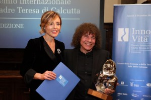 Nausika Spahia e Riccardo Cocciante, foto stampa