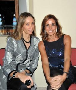 Laura Morino Teso con Cristina Parodi, foto stampa