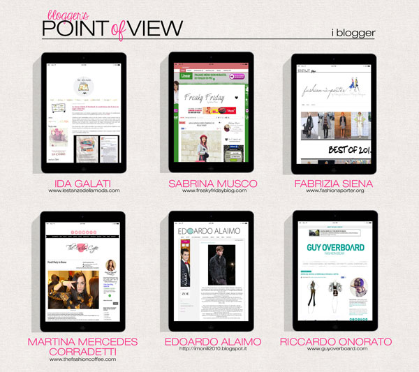 Point of View, AltaRomAltaModa Edition. I Blogger video-raccontano la Moda