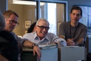 Il regista sul set, foto stampa