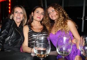 Francesca Langella con amiche, foto stampa