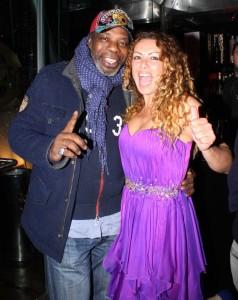 Francesca Langella con Dr. Feelx, foto stampa