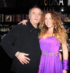Francesca con Alex Peroni, foto stampa