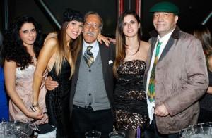 Le presentatrici con Buscemi e Pinketts, foto stampa