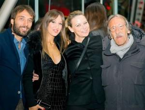 Stefy con Laura Valci e Buscemi, foto stampa