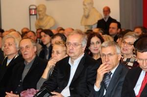 Walter Veltroni con Dario Argento, foto di Rodolfo Mazzoni