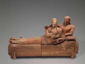 Il sarcofago degli sposi, foto stampa