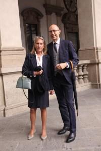 Fiorenza La latta Locatelli e George Paternoster, foto stampa
