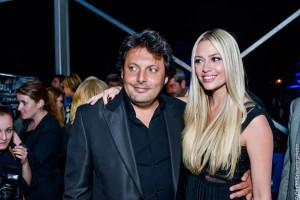 Enrico Brignano e Martina Stella, foto stampa