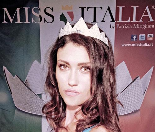 Miss Italia: Camilla Prigiotti di Casalpalocco è Miss Bellezza Rocchetta Lazio 2014