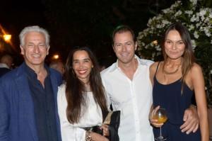 Adriano Teso, Alessandra Grimaldi, Luca et Marina Cantoni; foto stampa