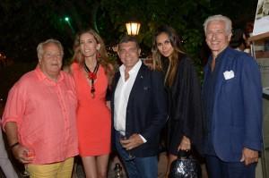 Massimo Gargia, Laura Morino Teso, Giovanni Cottone, Dani Samvis, Adriano Teso; foto stampa